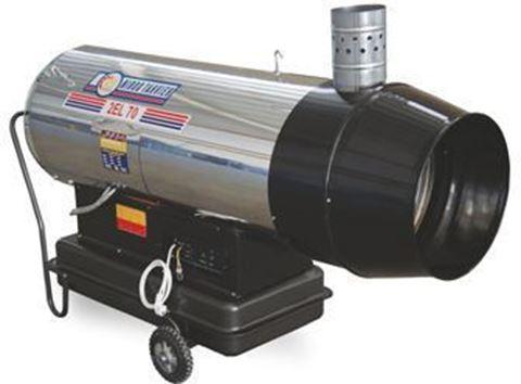 Gas/deisel (Hybrid) Jet Heater,70000Kcal/h 2EL-70